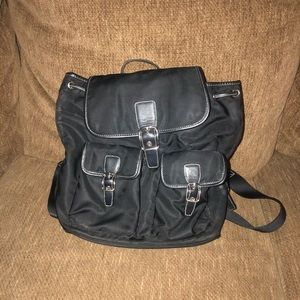 Small Black Coach Backpack